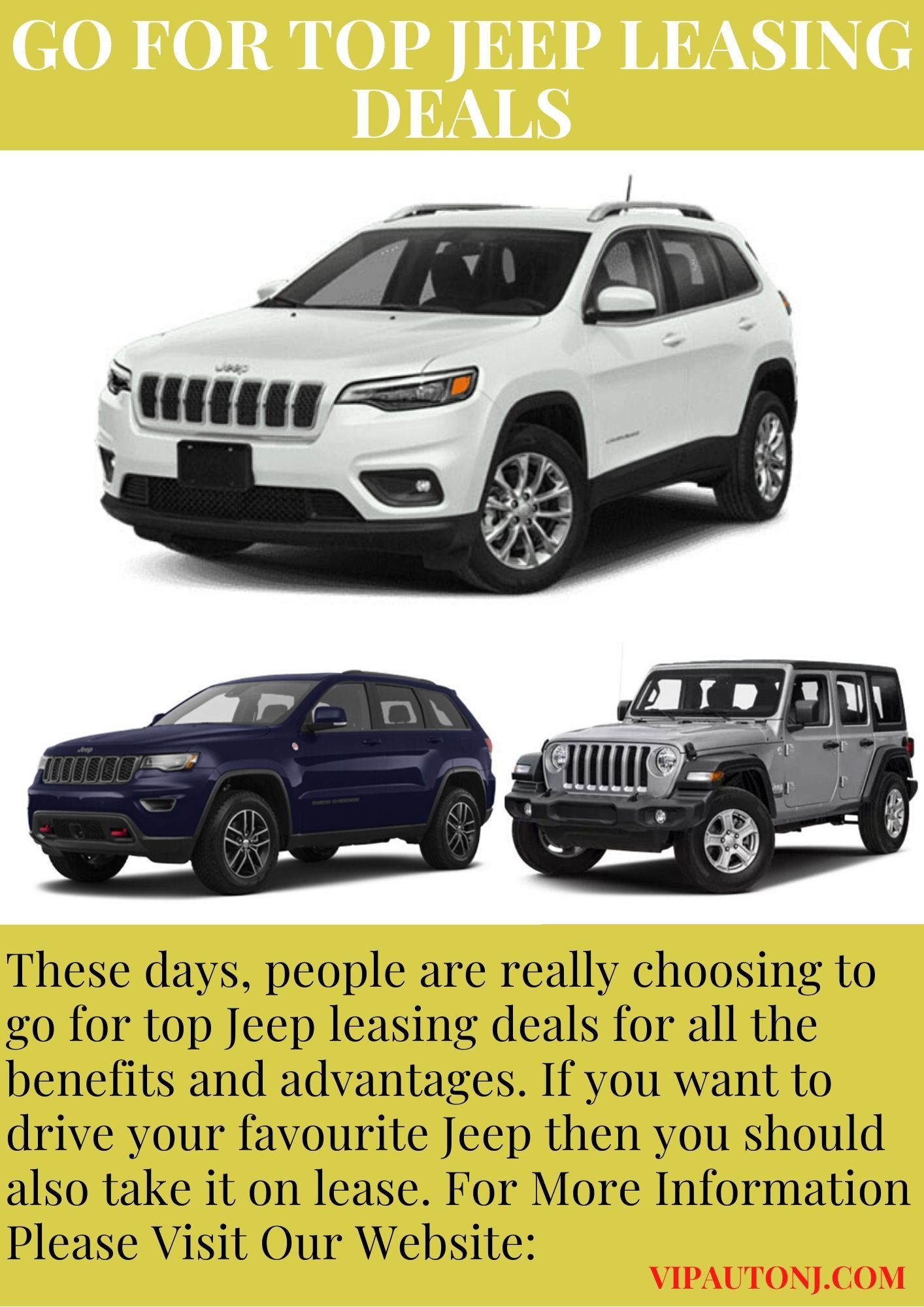 Go For Top Jeep Leasing Deals Jeep Deal Goes