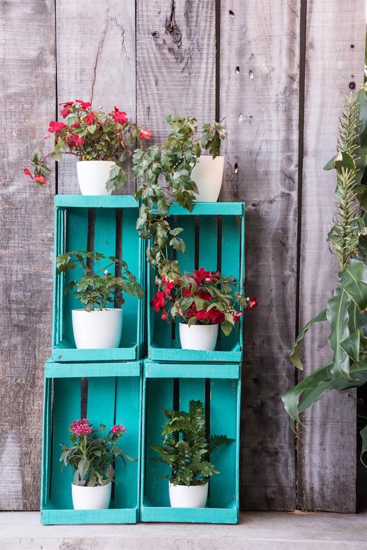 En el balcon, 3 formas fáciles de armar jardines verticales