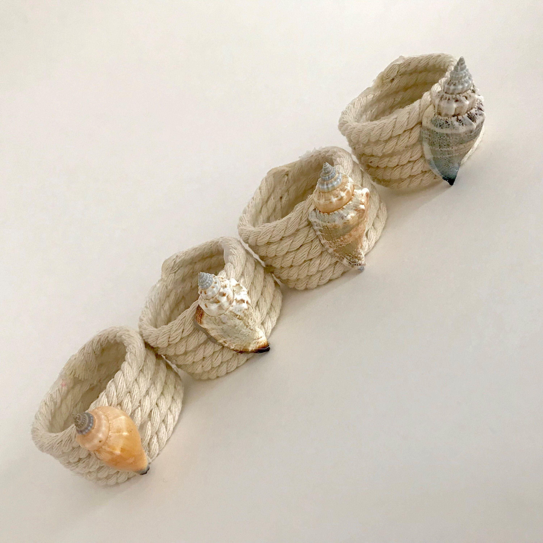 Seashell napkin rings / napkin holder #napkinrings