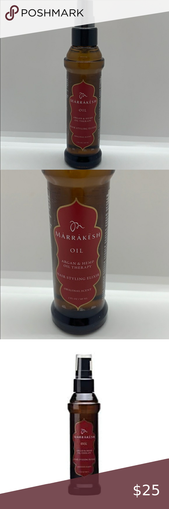 Nwt Marrakesh Oil Hair Styling Elixir In 2020 Hair Oil Oils Hair Styles