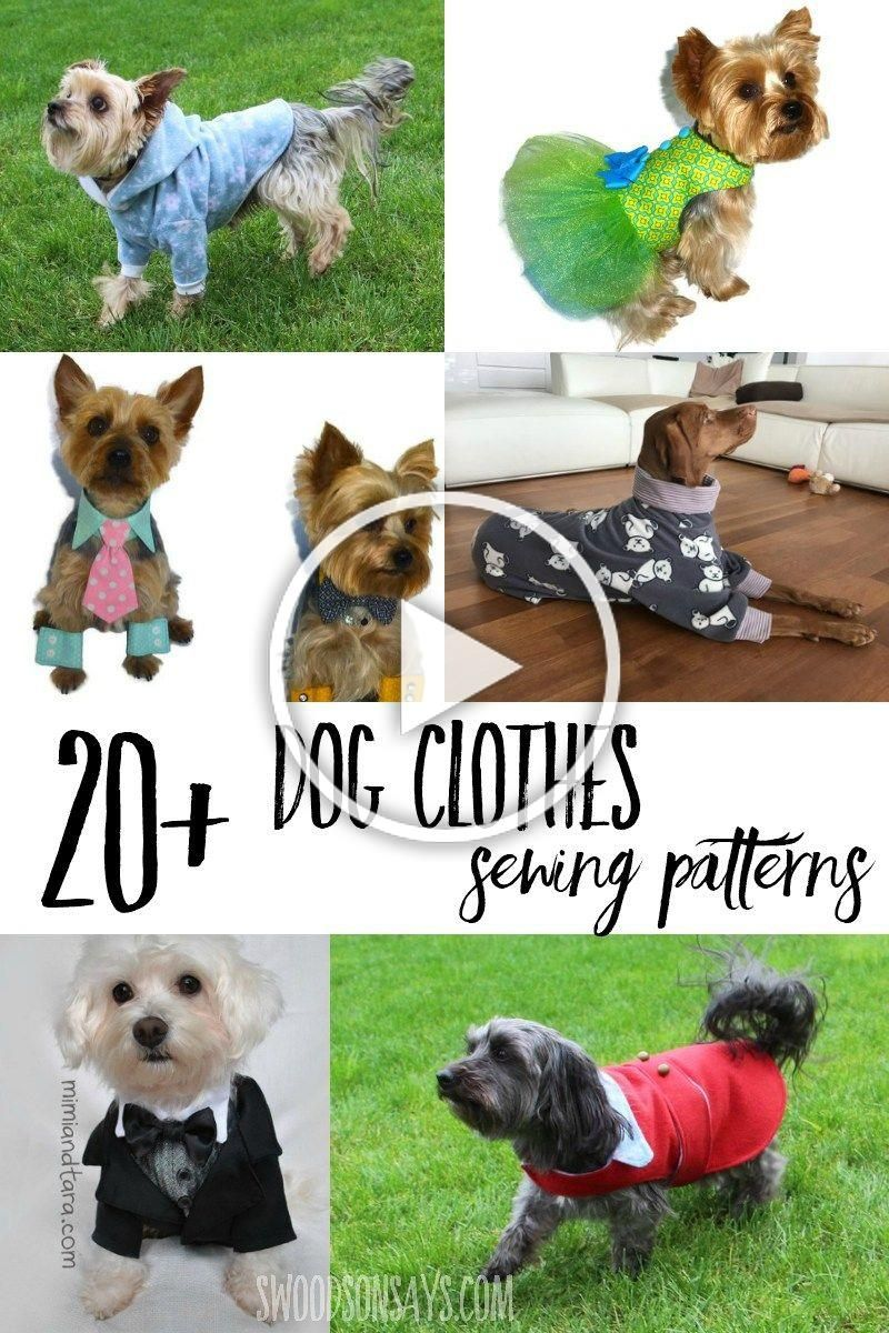 There are so many fun dog clothing sewing patterns to choose from Check out this list of dog jackets to sew dresses tuxedos and the cutest dog pajama sewing patterns