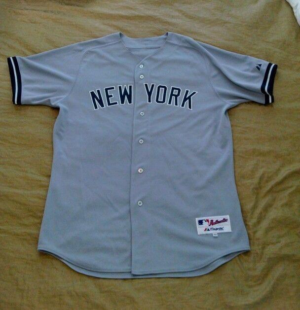New York Yankees 24 Stitched Replica Away Jersey Men S 48 Xl Nwot Majestic Jerseys New York Yankees Apparel New York