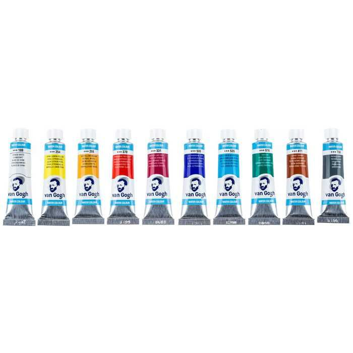 Academy Watercolor Set Van Gogh Watercolor Paint Your Art Out