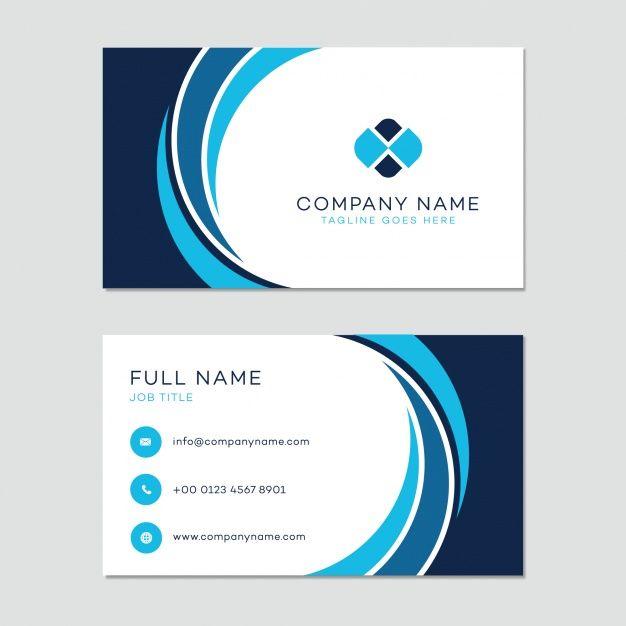 formato para tarjetas de presentacion