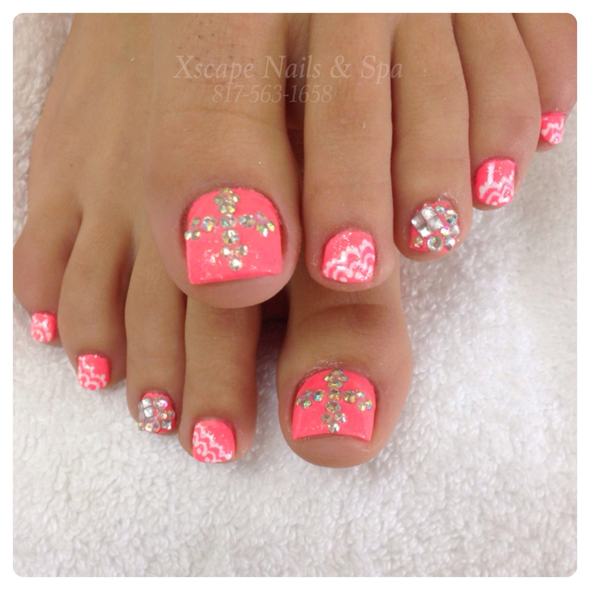 Rhinestones Nails Designs | Cute Nails Designs | Pinterest ...