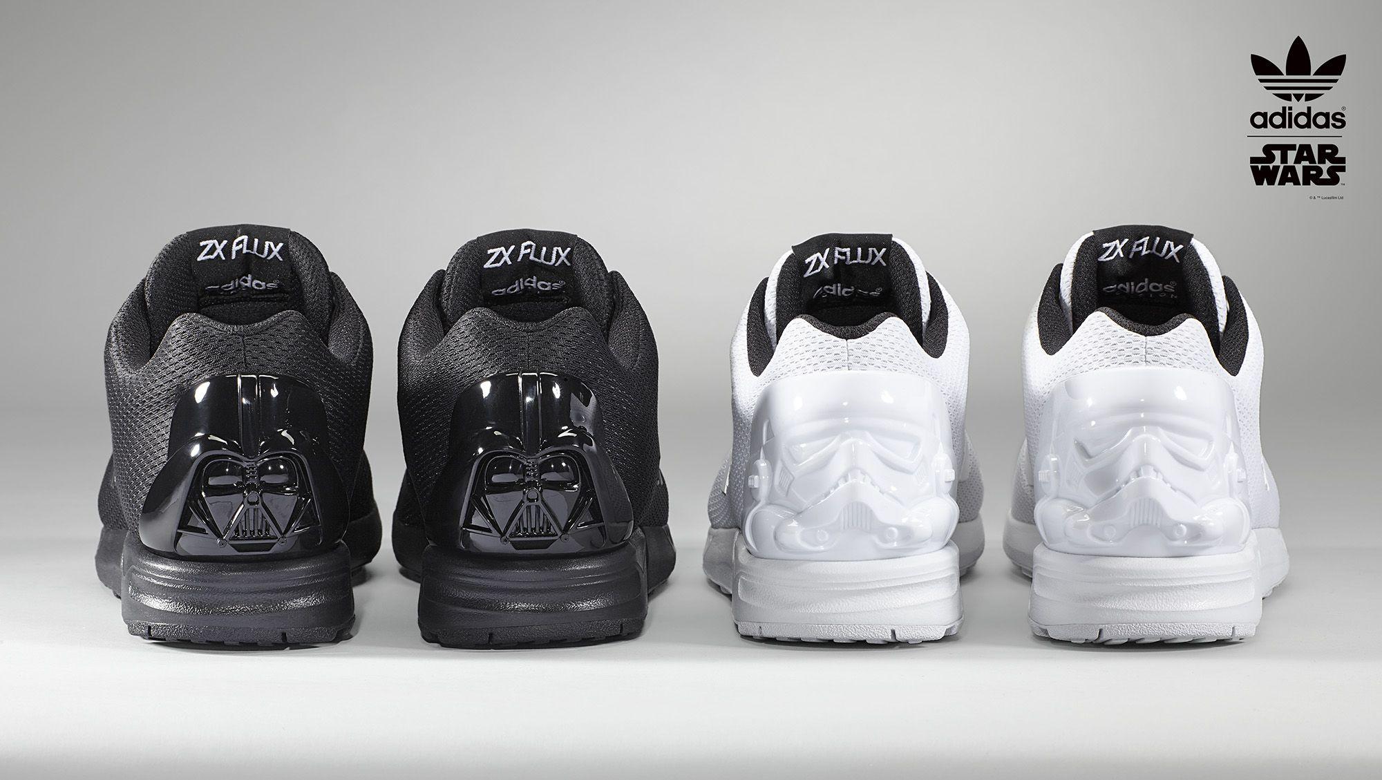 5ffecd25a mi adidas Offers New Star Wars Custom Options for the ZX Flux ...