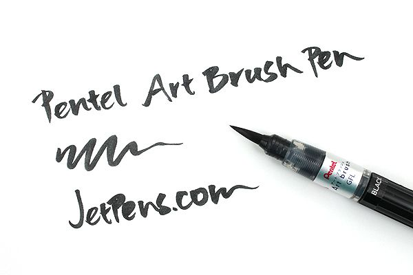 Pentel art brush pens http: www.jetpens.com pentel art brush pens
