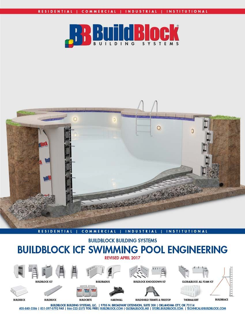 Icf Swimming Pool Engineering Guide Released With Images