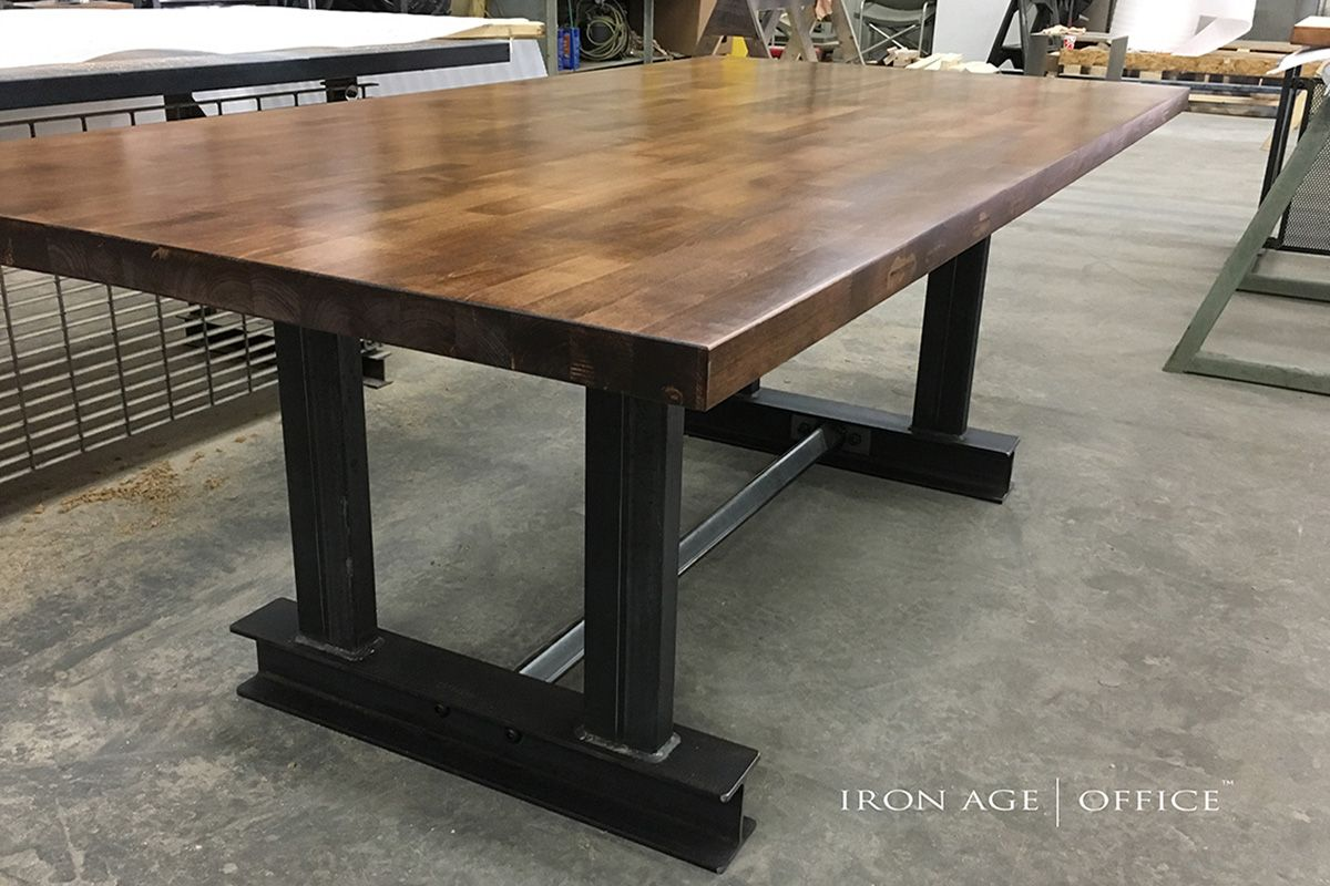 Glenn Conference Table | Industrial Desk | | Office Desk | | Industrial  Office Furniture |