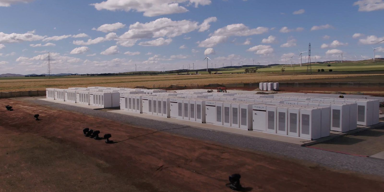 First Look At Tesla S New Most Powerful Battery System In The World Project In Australia Tesla Solar Solar Energy Diy