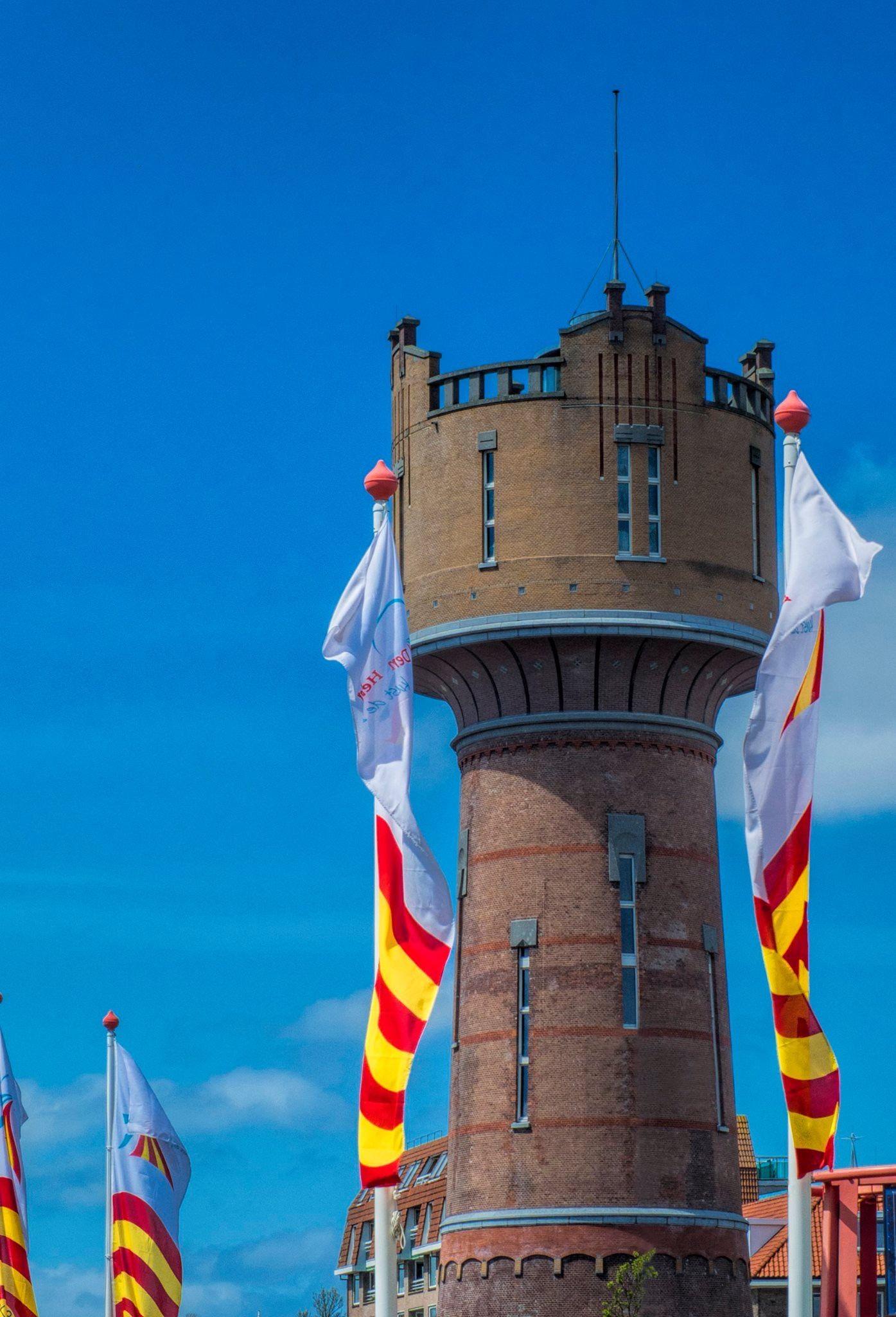 Oude watertoren. In het centrum van Den Helder.