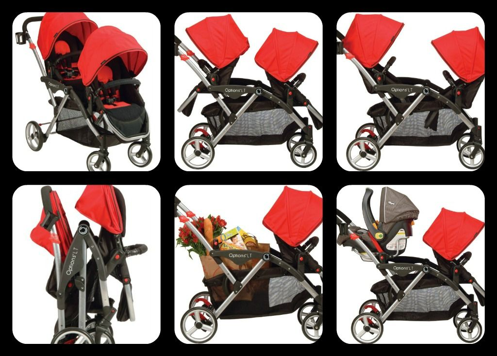 19 weeks: traveling with two | Tandem stroller, Stroller, Double strollers