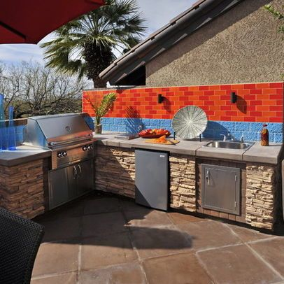 simple outdoor kitchens and patios outdoor kegerator design ideas pictures remodel with on outdoor kitchen kegerator id=60518
