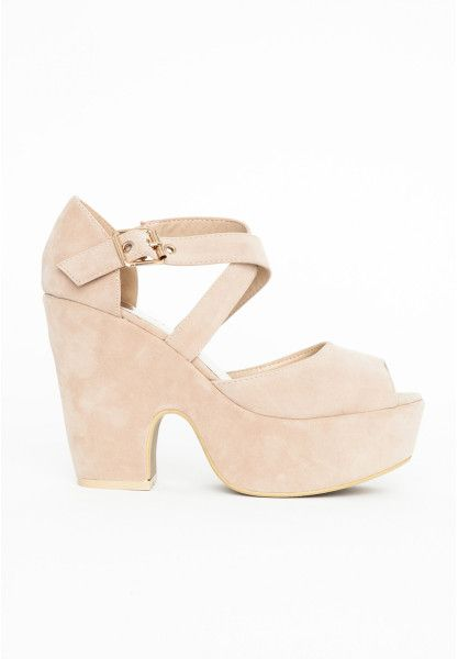 040d25ee69f Women's Natural Natami Nude Platform Shoes | Nude, Neutral Fashion ...