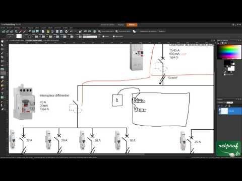 6 Comprendre tableau électrique et installations sous forme de - Schema Tableau Electrique Maison