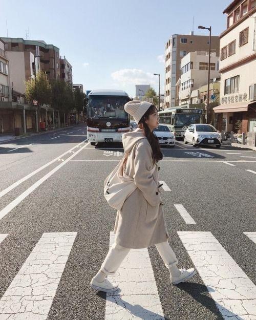 Ulzzang Winter Fashion Aesthetic: Ulzzang Aesthetic Korean Winter Street Styles Fashion