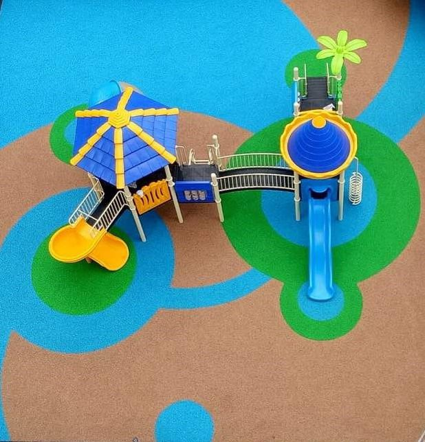 Miroad EPDM Wetpour Is A Great Playground Surfacing