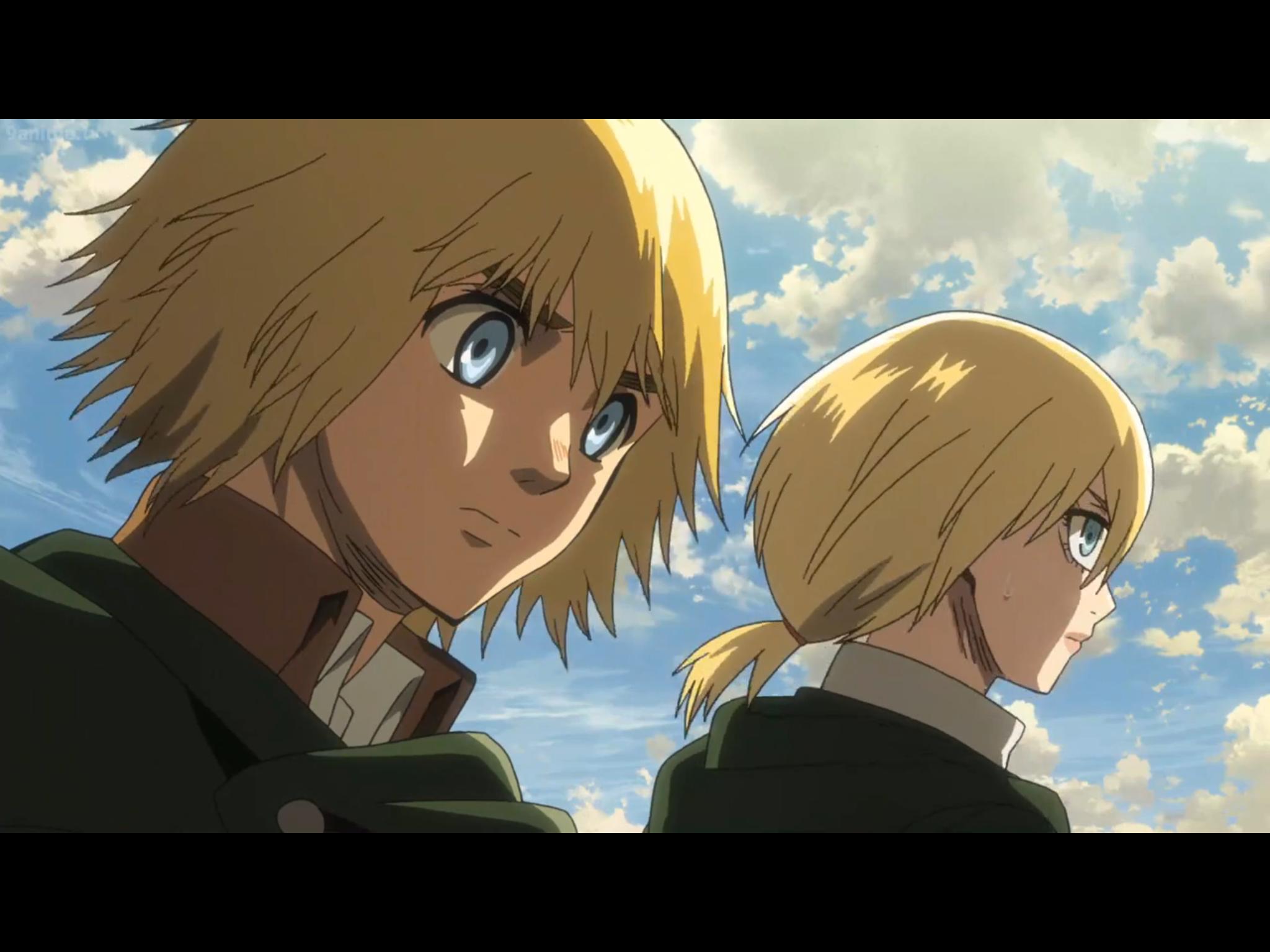Blonde twins Anime, Attack on titan, Naruto