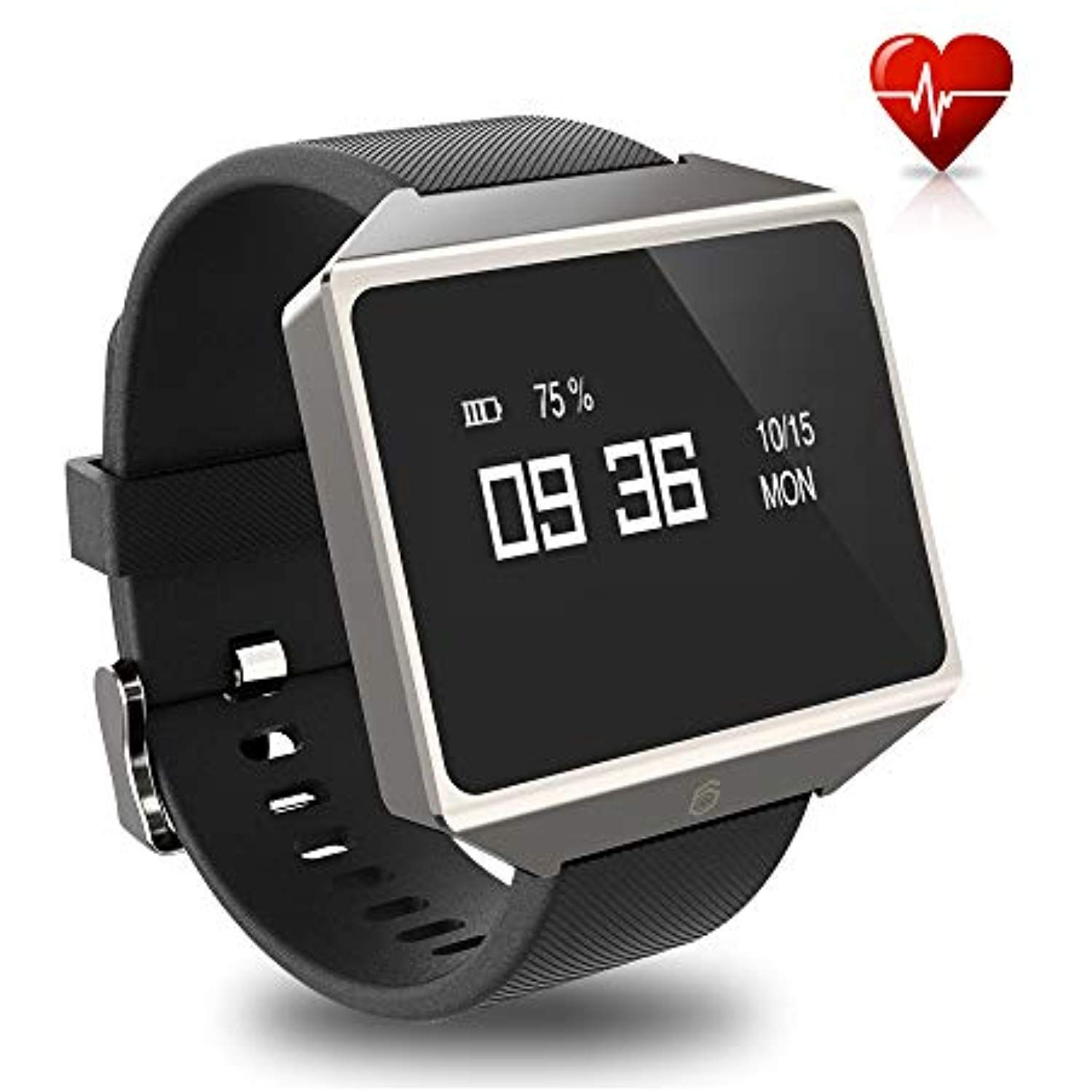 GFiD Smart Watch with ECG PPG,Health Fitness Heart Rate