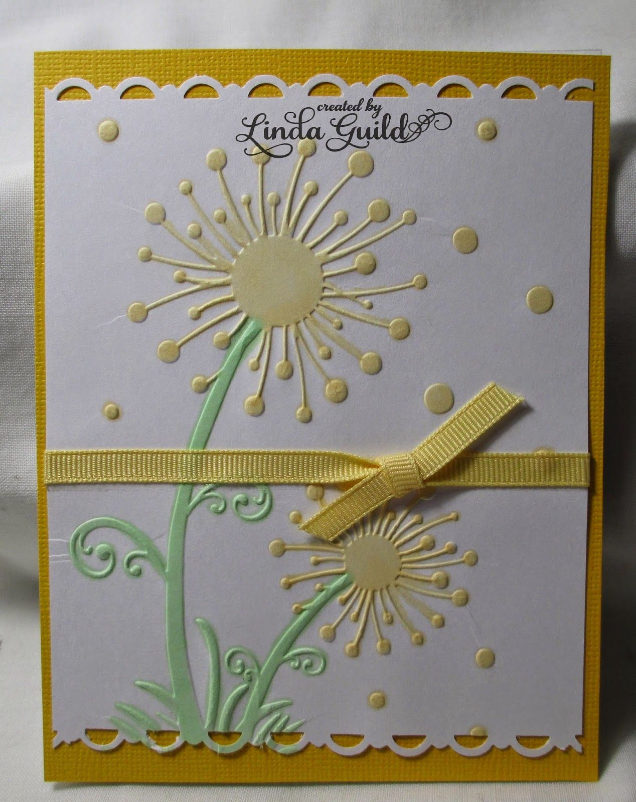 the embossing folder is from darice i used a stampin' up