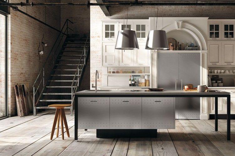 Moderne Küche im Landhaus-Look \u2013 Montserrat in matt weiß #kuche