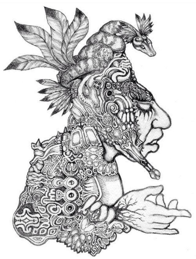 dieu incas serpent incas god snake aztec native american. Black Bedroom Furniture Sets. Home Design Ideas