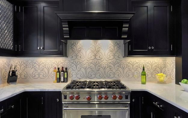 Modern Wallpaper for Small Kitchens, Beautiful Kitchen Design and