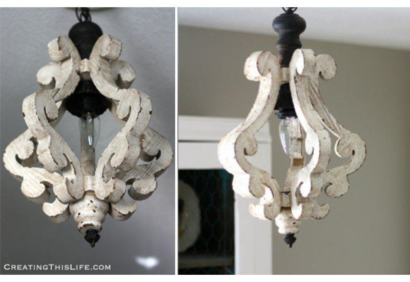 Distressed wood chandelier chandeliers white chandelier dcor distressed wood chandelier chandeliers white chandelier dcor steals aloadofball Images