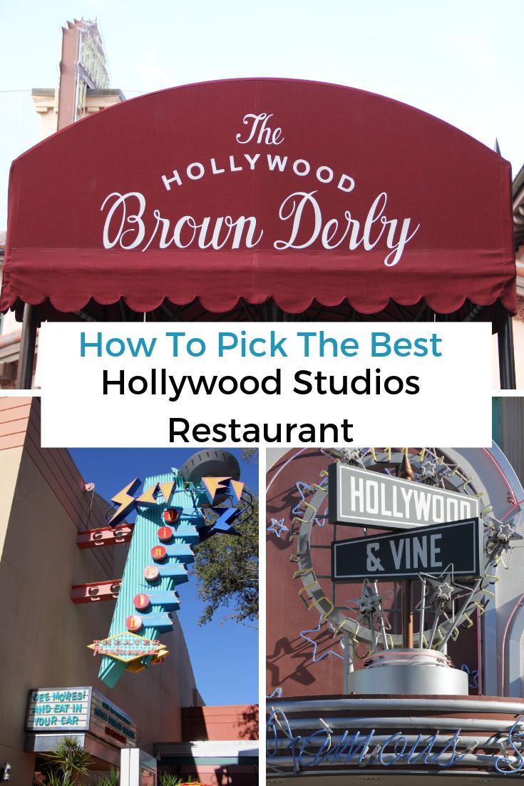 Best Hollywood Studios Restaurants Walt Disney World