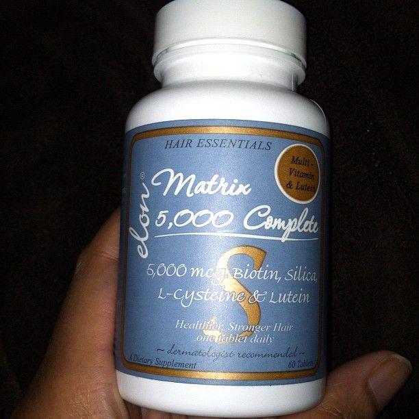 Hair VItamins & more.. Matrix 5000 complete