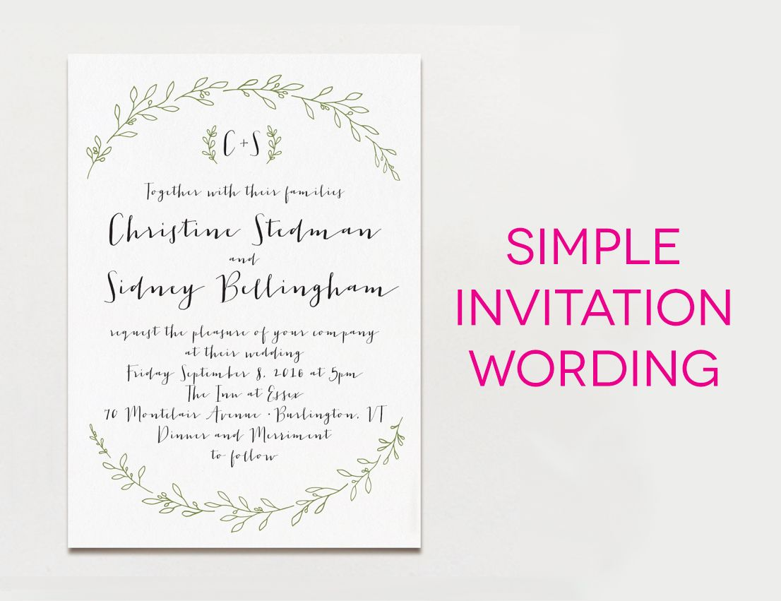 How to Select the Wedding Invitation Samples Designs | Invitations ...