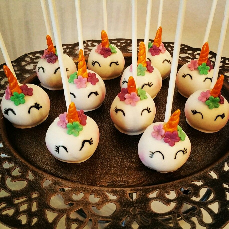 Unicorn Cake Pops Unicorn Cake Pops Cake Pops Cake