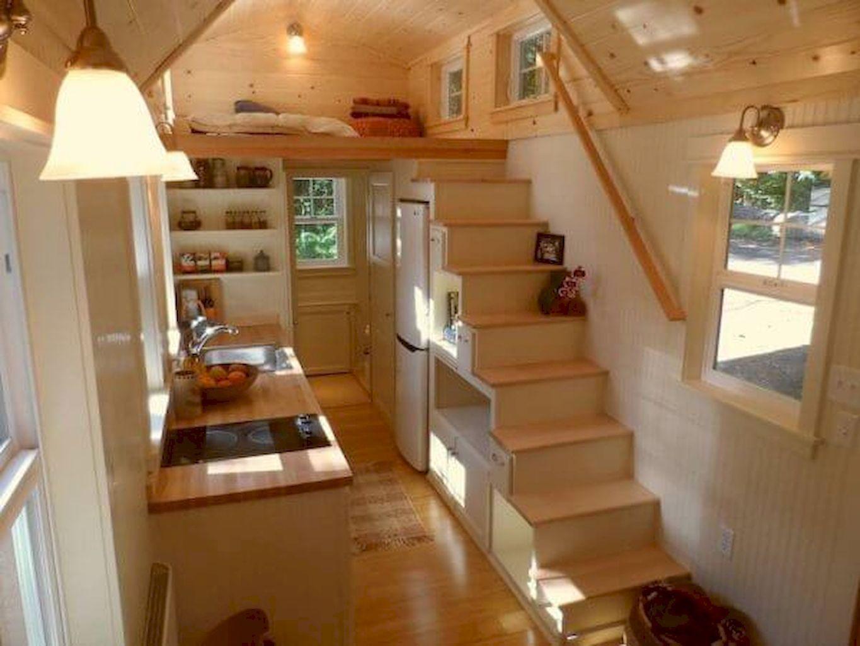 Adorable Best 30 Tiny House Interior Decor Ideas Https Roomadness Com 2018 03 15 Best 30 Tiny H Tiny House Loft Tiny House Interior Design Shed To Tiny House