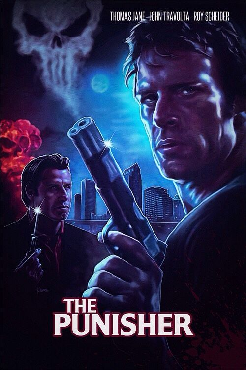 The Punisher By Ralf Krause The Punisher Movie Punisher Poster Artwork