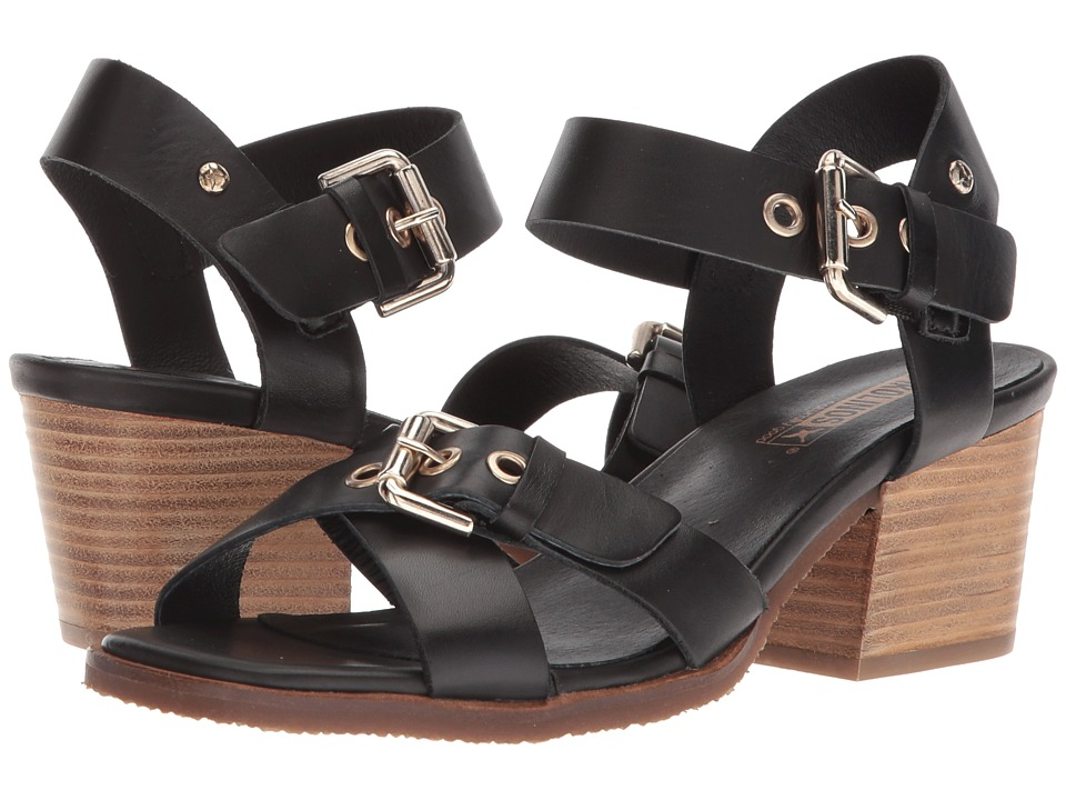 c6944f65d2 Pikolinos Kenia W6T-1649 Women's Hook and Loop Shoes Black ...