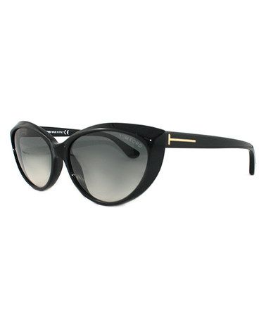 12302318a64c Look what I found on #zulily! Black Elma Sunglasses - Women by Tom ...