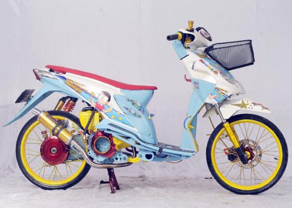 Modifikasi Honda Beat Esp Airbrush Desain Pinterest Airbrush