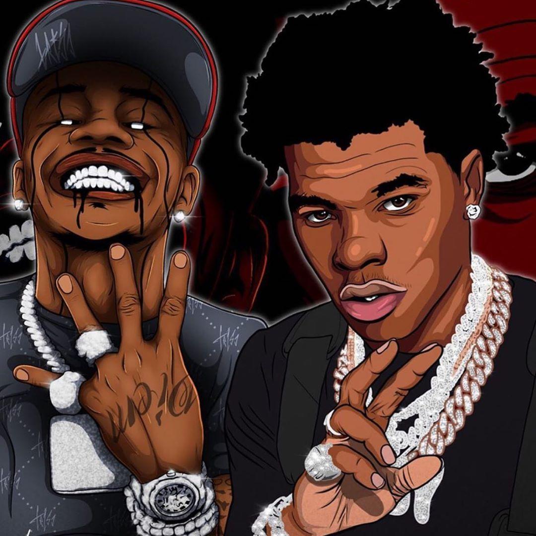 Dm For Serious Inquires Lilbaby Dababy Art Cartoonsforsale Portriat Artist Animationforsale Animations Rapper Art Cartoon Art Black Love Art