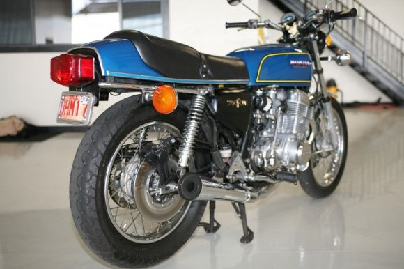 Blue Bomber 1975 Honda Cb750 Super Sport Honda Cb750 Cb750 Honda