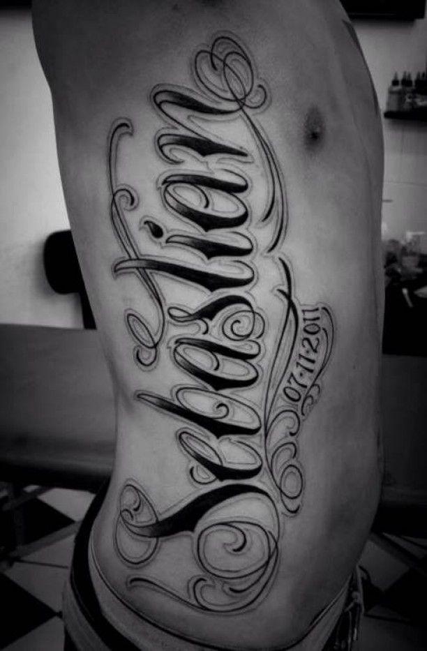 Schrift arm männer tattoos M�nner Tattoos