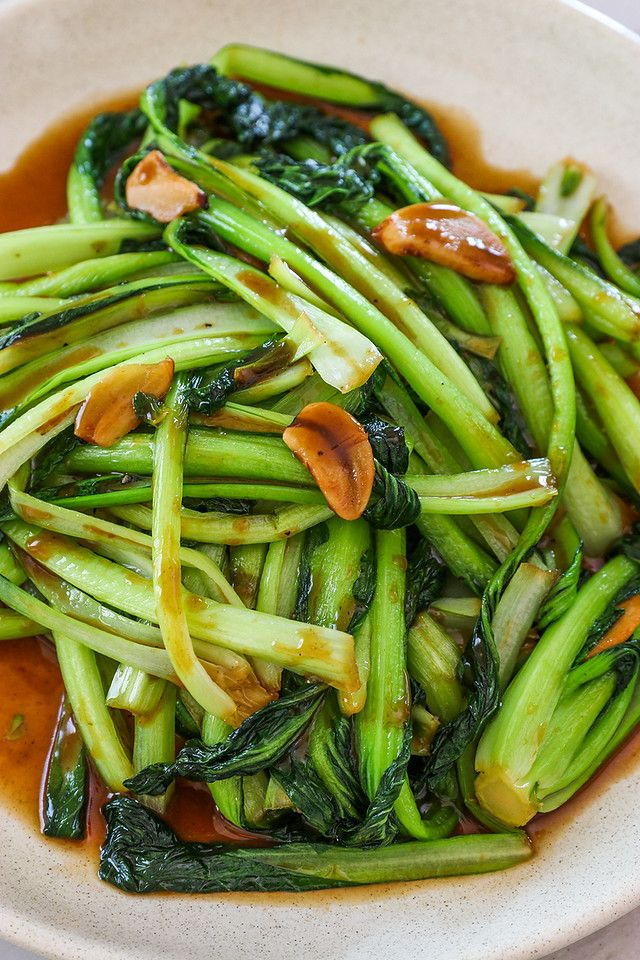Photo of Vegan Stir Fried Bok Choy Recipe & Video – Seonkyoung Longest