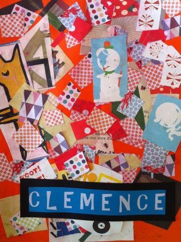 Petits bouts de papiers de toutes les couleurs coll s for Decoration porte arts visuels