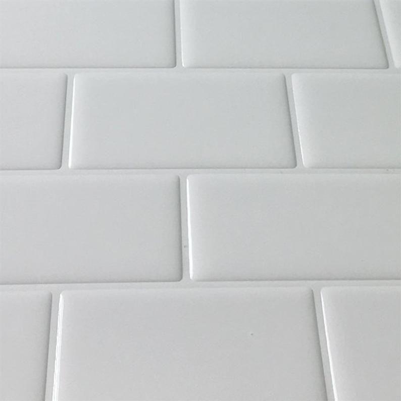 12x12 Peel And Stick Backsplash Tile For Kitchen Etsy In 2020 Stick On Tiles Peel And Stick Tile Vinyl Backsplash