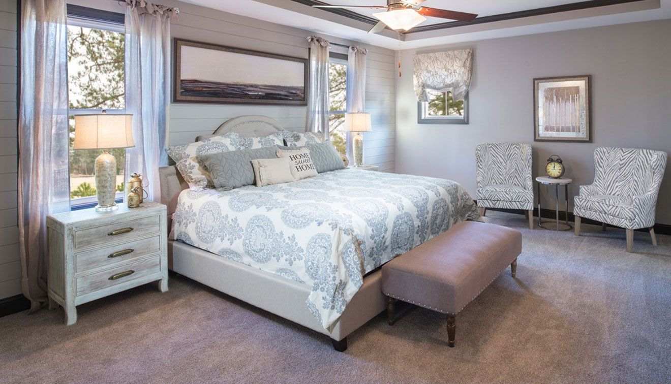 I Love the Accent Chairs and the Nightstands Home, Model