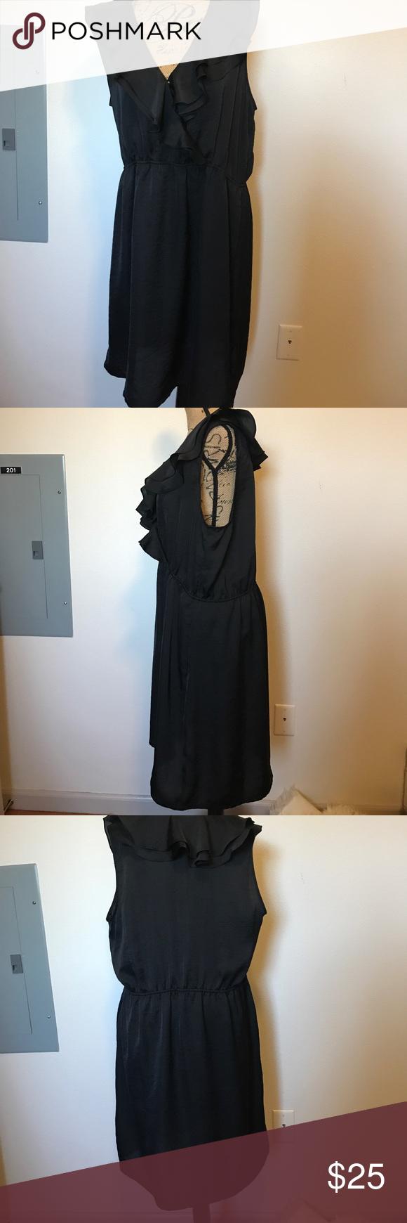Black ruffle dress black ruffle old navy and ruffle dress