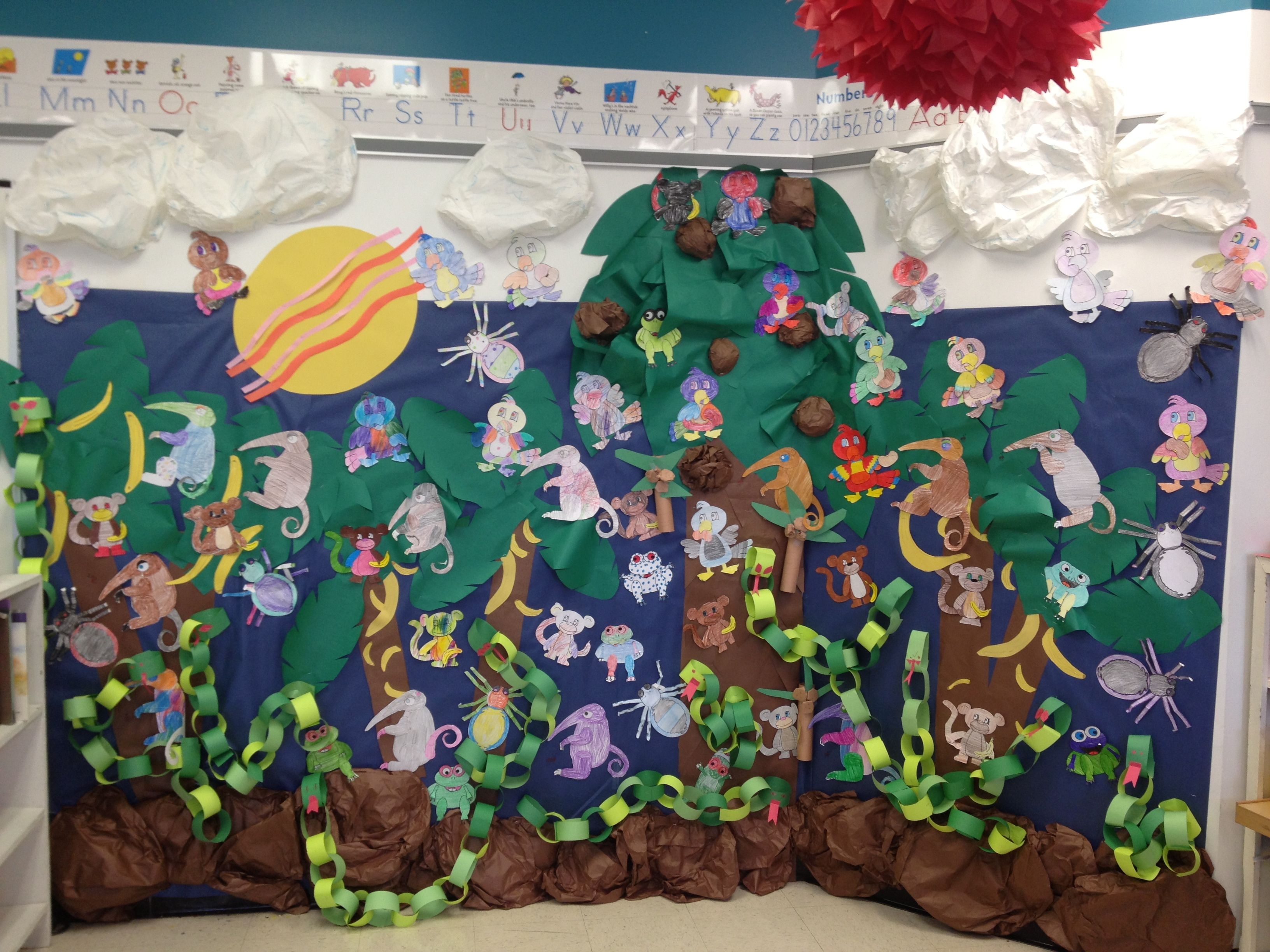 Rainforest Theme In Classroom