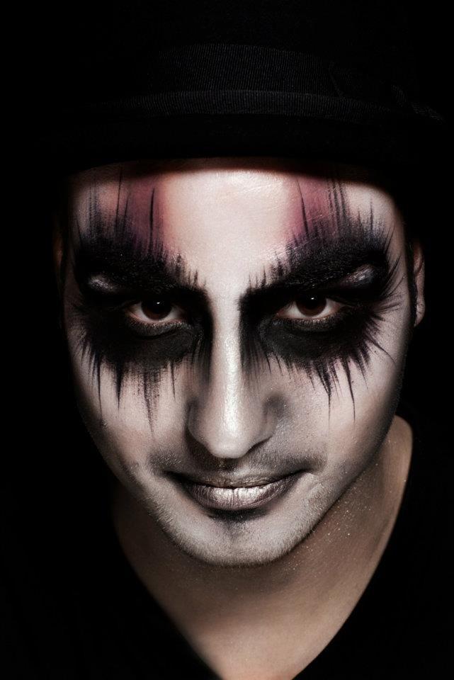 Distinction in Makeup Artistry Circus Pinterest Maquillaje - maquillaje de vampiro hombre
