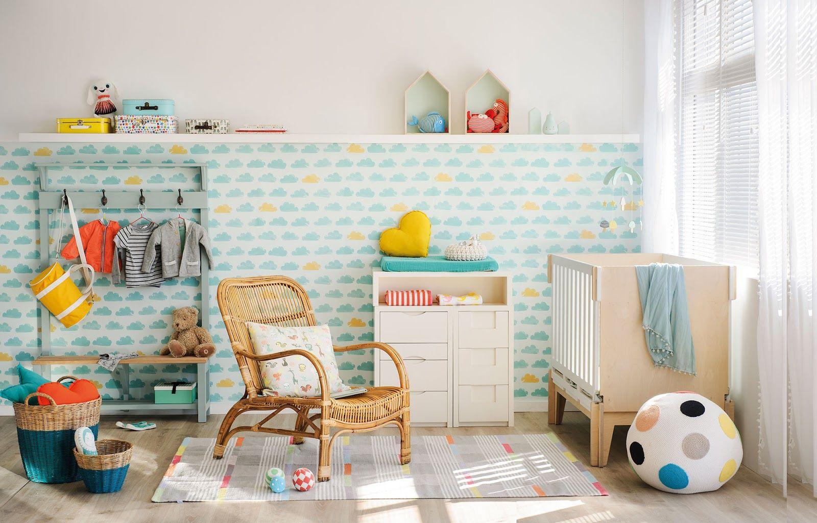 Amenajare Camera Montessori : Amenajare colorată și veselă pentru camera unui bebeluș kids rooms
