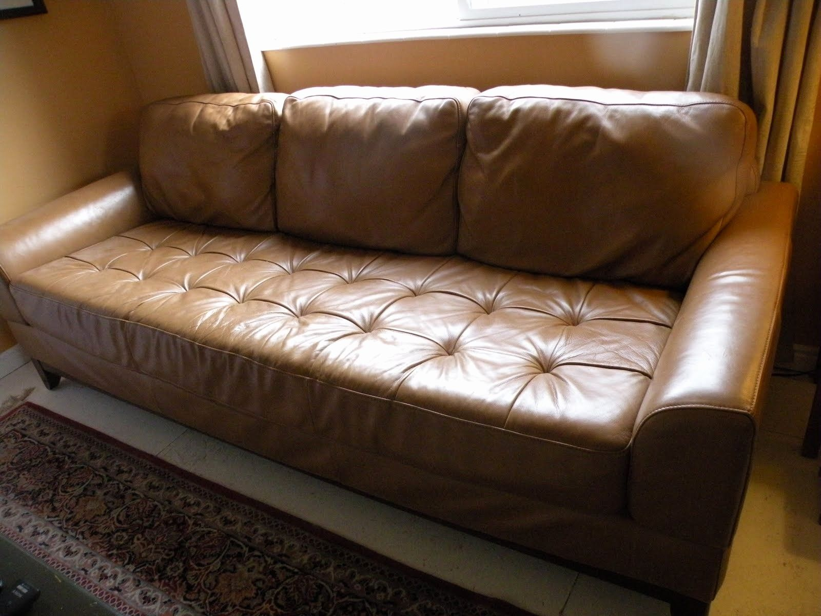 Leather Sofa Bed Couch Used Homedecor Homedecorideas In 2020