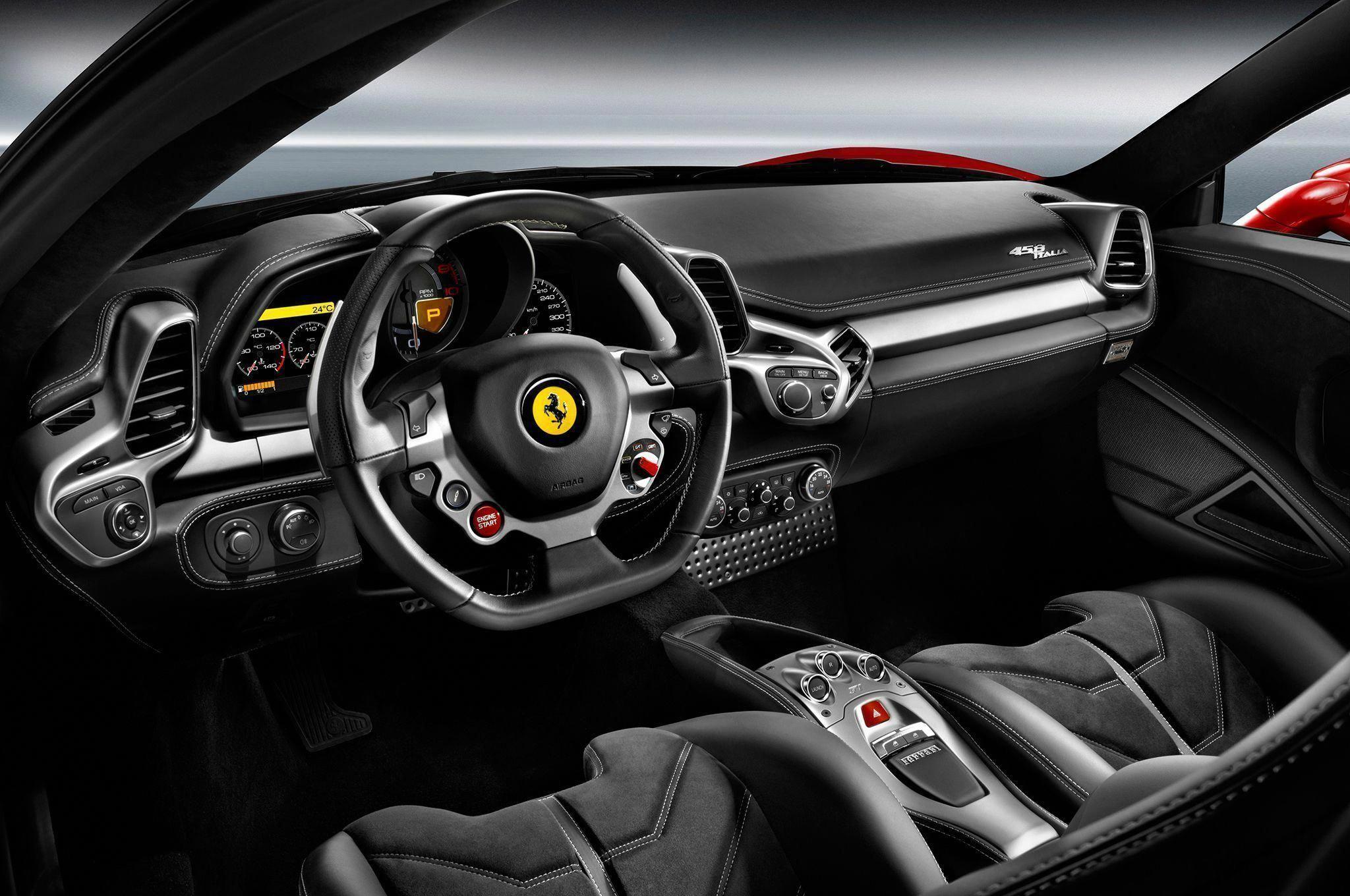 Ferrari 458 Italia Interior 25 Ferrari458